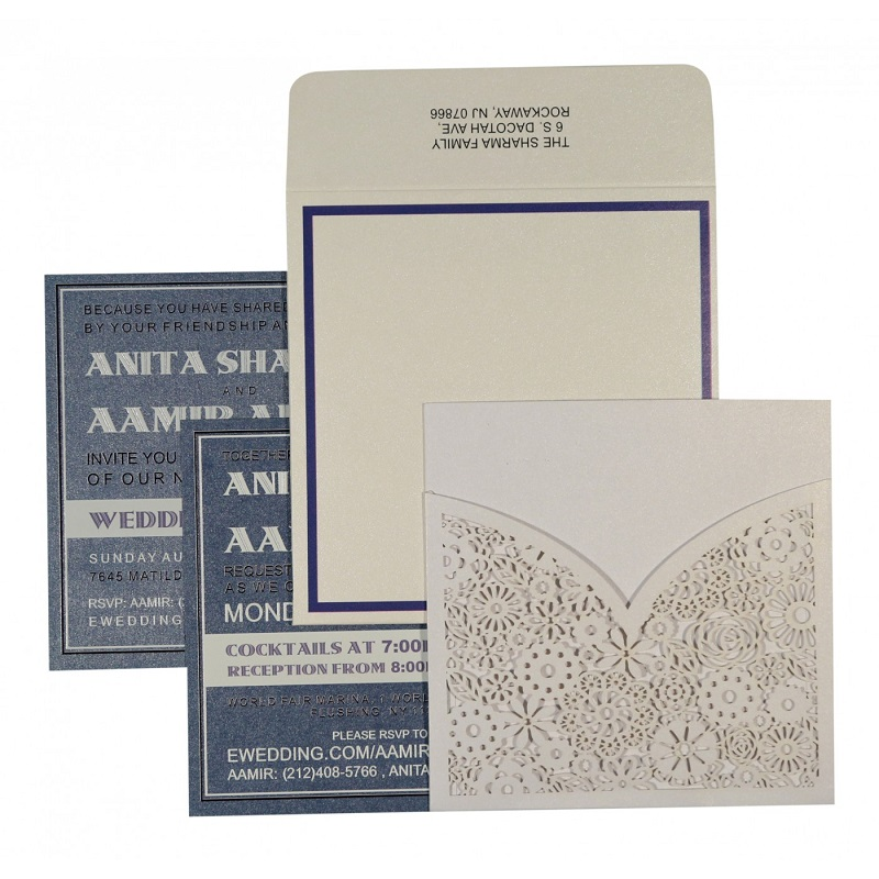 Laser Cut Invitations Indian Wedding Cards