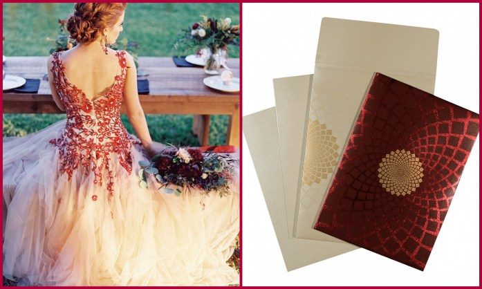 Wedding Dress Invitation Style-IndianWeddingCards