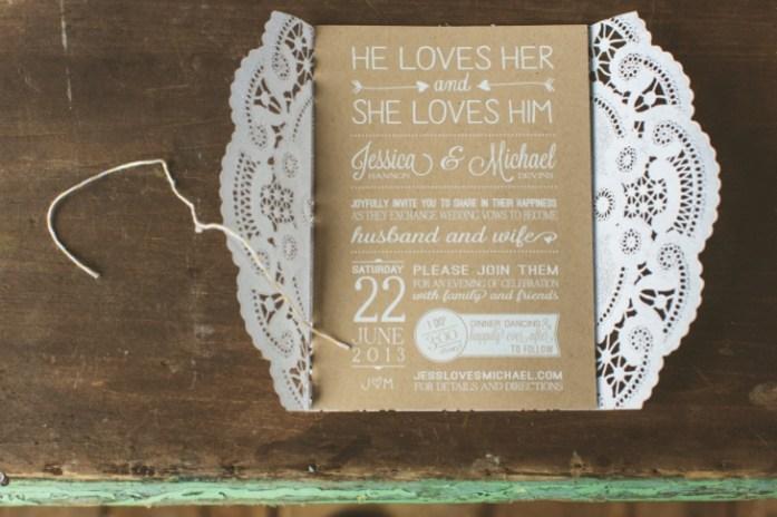 lacy-brown-white-invitations