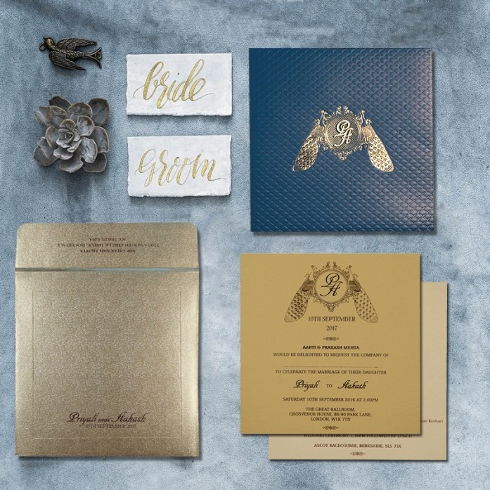 Designer wedding invitations cards -CD-1714