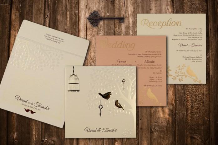 Foil Pressed Invites CD-1765