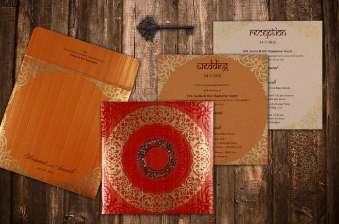 foil stamped invites CD-1751