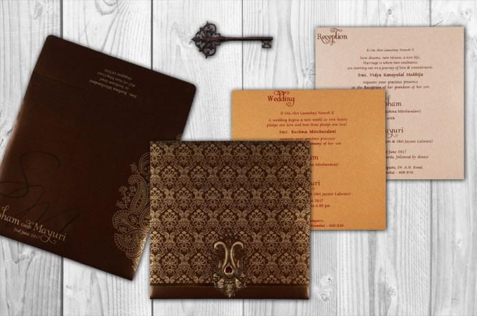 foil stamping Invites CD-1686