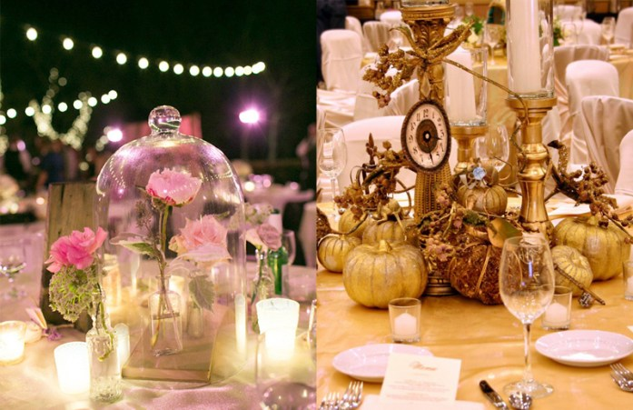 Remarkable Disney Wedding Centerpiece Ideas Home Interior And Landscaping Eliaenasavecom
