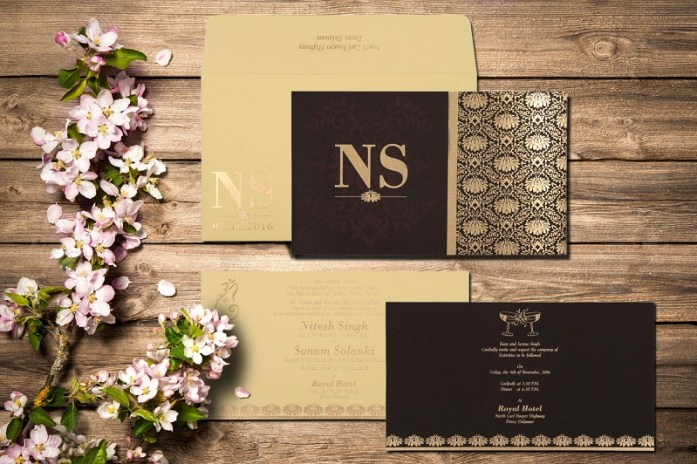 Wedding invitation CD-8261G