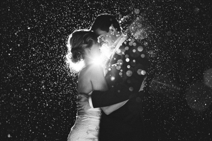 wedding portraits magical with sparklers 8