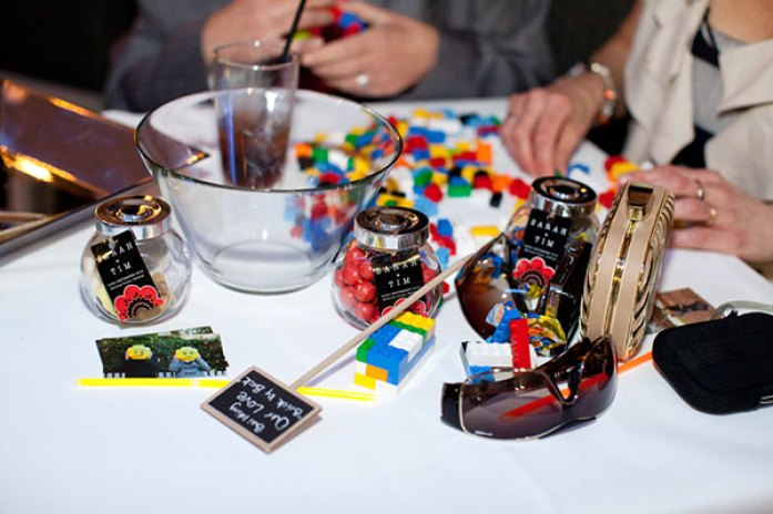 Lego wedding guest fun and entertainment