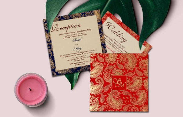 Ornate-Paisley-Designs-Wedding-Invitations-IndianWeddingCards
