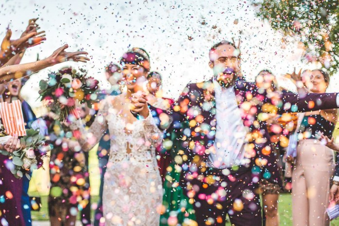 A colorful, fusion British Indian wedding at Cain Manor- Photos