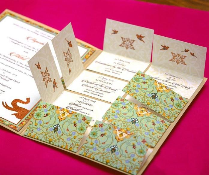 Lift-The-Flap Wedding Invitations