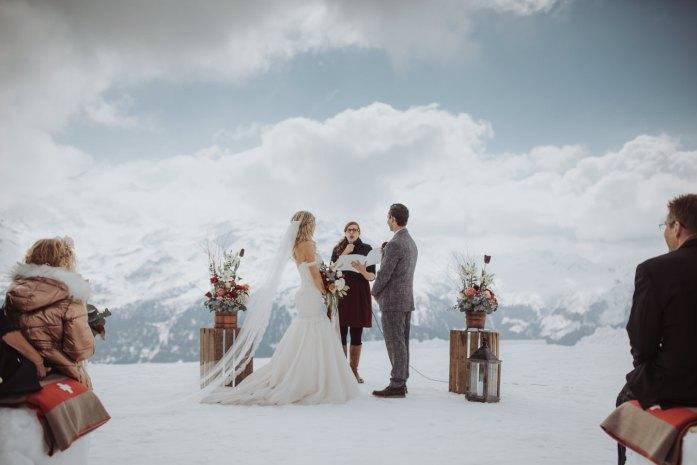 Wedding Vows in Ice Village