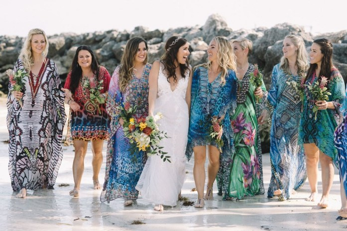 Cool Color For Beach Wedding