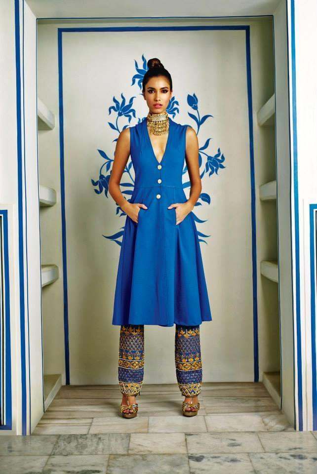 Anita Dongre Festive 2014 Indian Bridal Fashion Collection