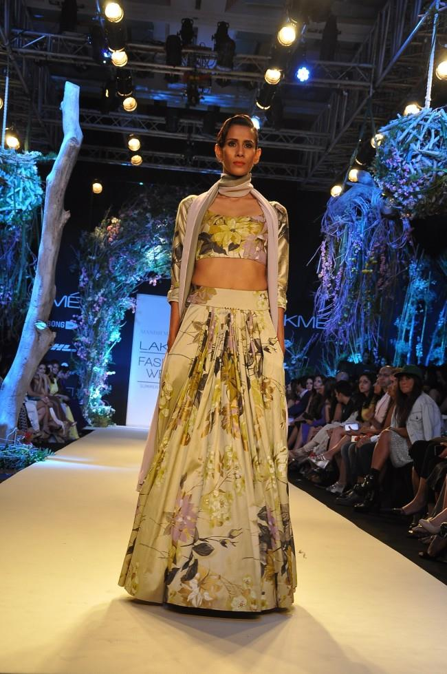 Manish Malhotra At Lakme Fashion Week Summer Resort 2014