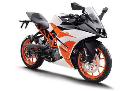 types of ktm bikes