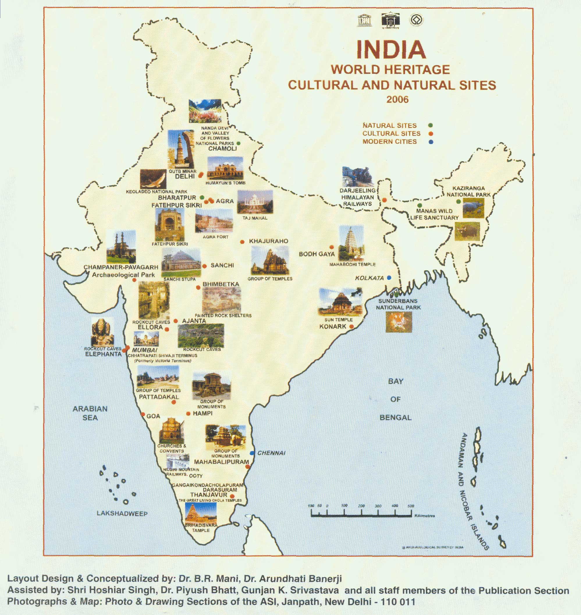 World Heritage Monuments Of India