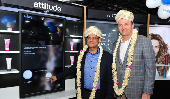 Amway, Microsoft launch digital experience centre in India