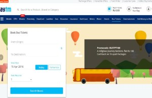 Paytm to expand online travel business to drive more traffic