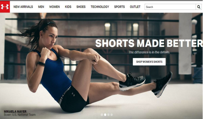 Under Armour's apparel sale hits 6.6 million in FY16