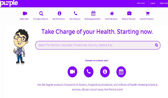PurpleHealth.com raises 0,000 from Katabole Technology Venture