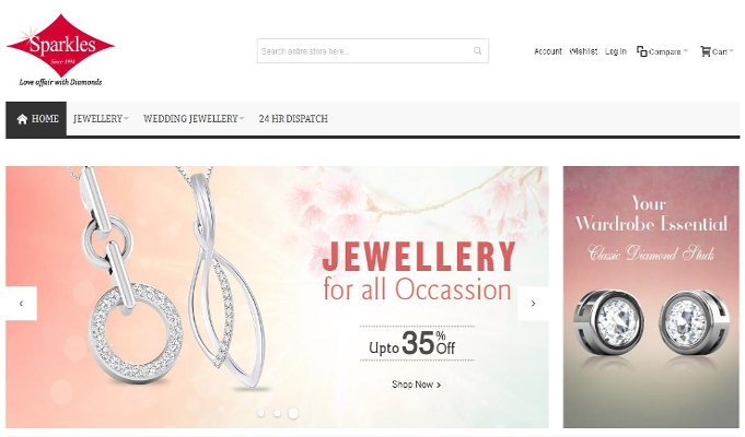 Jewellery brand Sparkles launches its e-commerce store