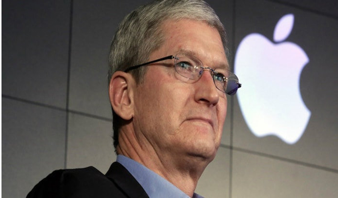 What's the reason behind Tim Cook's India visit?