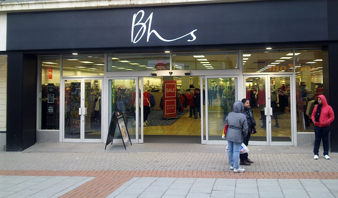 British Retailer BHS Collapses With Loss Of Up To 11,000 Jobs