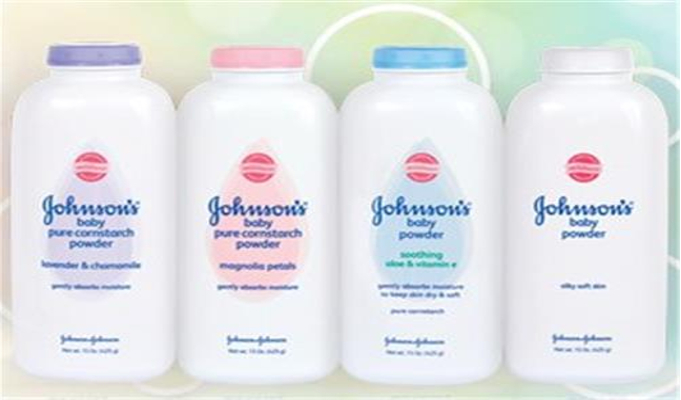 Johnson and other powder samples sent for test as precaution