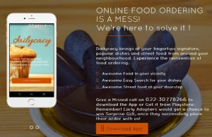 Dailycacy claims to revolutionize online food ordering