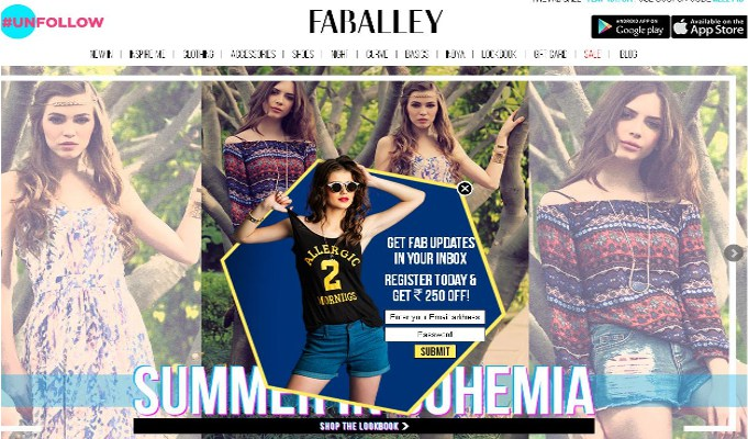 FabAlley raises US million; to open exclusive brand stores soon