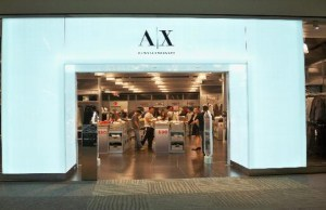 Armani Exchange brand debuts in India