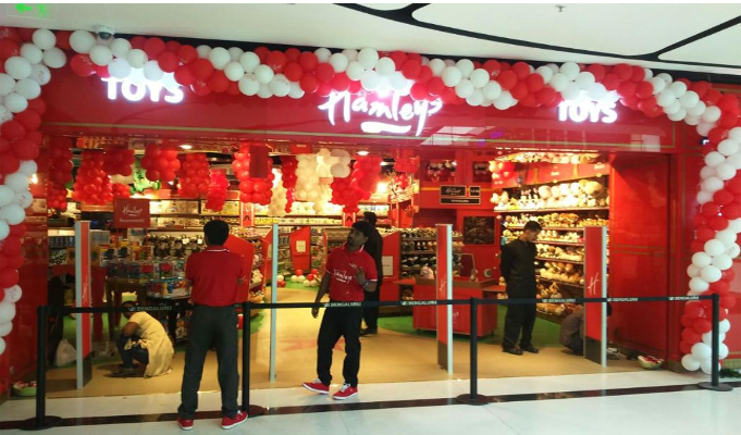 Hamleys opens outlet at VR Bengaluru