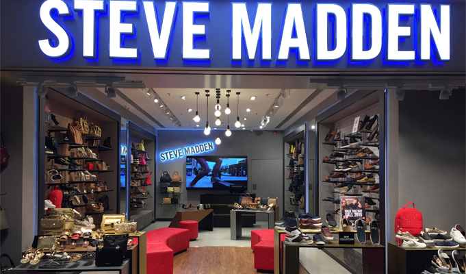 Steve Madden opens its first store in