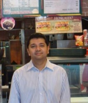 Chetan Arora, Development Agent and Multi Unit Owner, Subway India