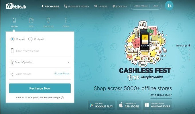 MobiKwik registers 7000 per cent increase in bank transfers