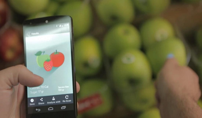 Smartphones to sense food quality or monitor health