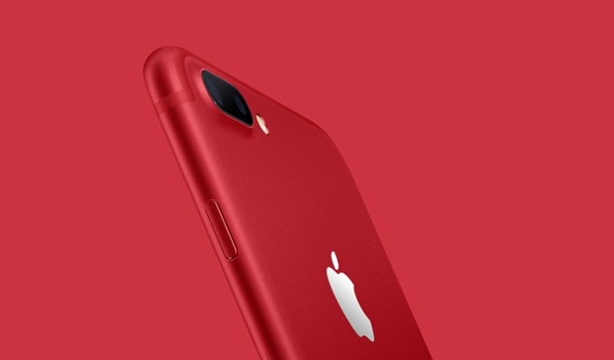 Apple introduces iPhone 7 in red colour