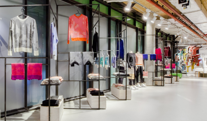 Fashion 4 Home adidas s pop up store lets customers design sweaters take them