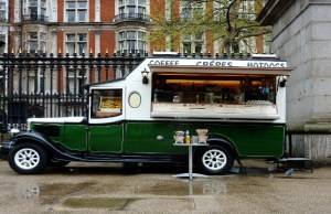 Quirky, cool food trucks going places - literally!
