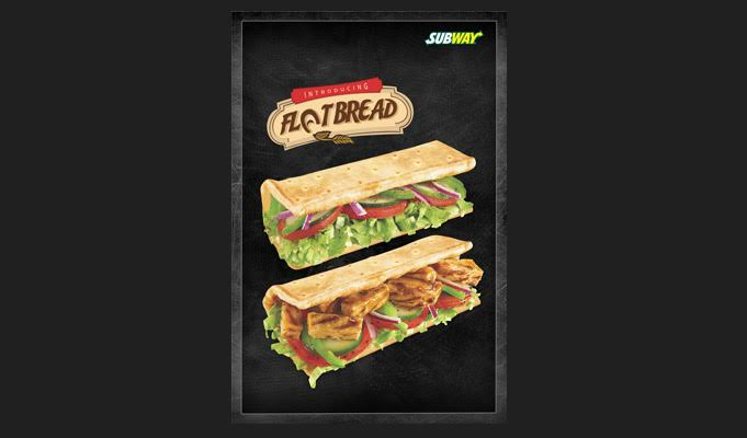Subway introduces flatbread