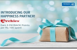 Payback partners with Archies to expand its reach in gifting space