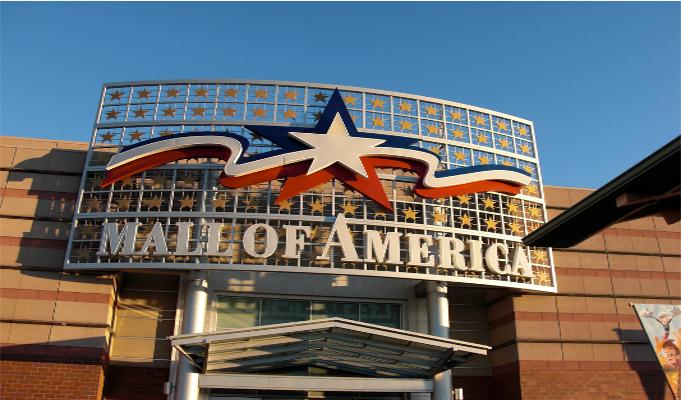 America's biggest mall celebrates silver jubilee