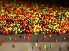 American chocolate brand M&M's launched in India