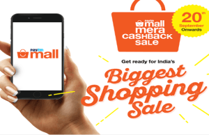 Paytm Mall registers record sales on Day One of Mera Cashback Sale