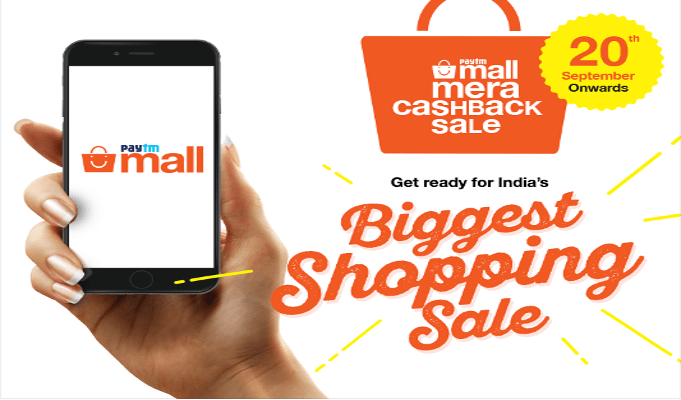 Paytm Mall sounds the bugle with 'Mera Cashback Sale' this Diwali