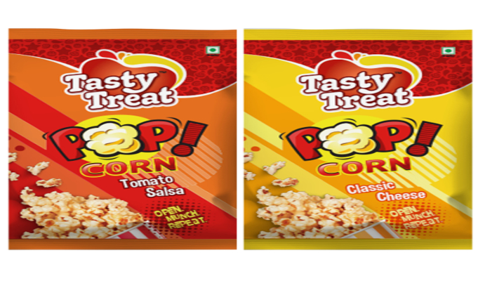 Tasty Treat launches a new snacking munch – POP CORN