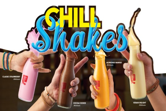 Cafe Coffee Day introduces milkshakes in bottles