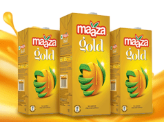 Coca-Cola India launches Maaza Gold; aims to become US $1 billion brand by 2023