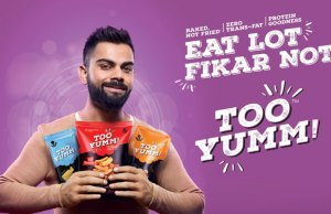 Guiltfree Industries signs Virat Kohli as brand ambassador for Too Yumm!