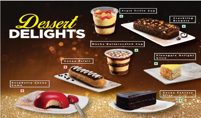 Café Coffee Day launches 'Dessert Delights' menu